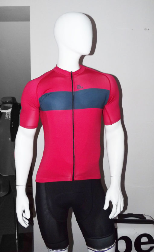 cyklo dres ruzovy jerzeys pink