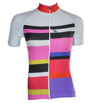 dámský dres s barevnými pruhy