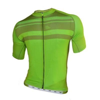 cyklistický dres zelený
